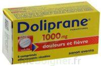 DOLIPRANE 1000 mg Comprimés effervescents sécables T/8 à BOURG-SAINT-MAURICE