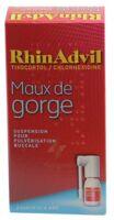 RHINADVIL MAUX DE GORGE TIXOCORTOL/CHLORHEXIDINE, suspension pour pulvérisation buccale à BOURG-SAINT-MAURICE