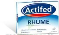 ACTIFED RHUME, comprimé à BOURG-SAINT-MAURICE
