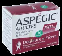 ASPEGIC ADULTES 1000 mg, poudre pour solution buvable en sachet-dose 30 à BOURG-SAINT-MAURICE