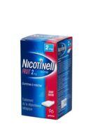 NICOTINELL FRUIT 2 mg SANS SUCRE, gomme à mâcher médicamenteuse P/96 à BOURG-SAINT-MAURICE