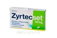 ZYRTECSET 10 mg, comprimé pelliculé sécable à BOURG-SAINT-MAURICE