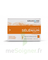 GRANIONS DE SELENIUM 0,96 mg/2 ml S buv 30Amp/2ml à BOURG-SAINT-MAURICE