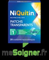 NIQUITIN 21 mg/24 heures, dispositif transdermique Sach/28 à BOURG-SAINT-MAURICE
