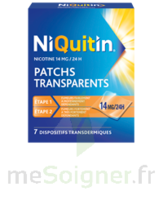 NIQUITIN 14 mg/24 heures, dispositif transdermique Sach/7 à BOURG-SAINT-MAURICE