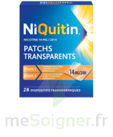 NIQUITIN 14 mg/24 heures, dispositif transdermique Sach/28 à BOURG-SAINT-MAURICE