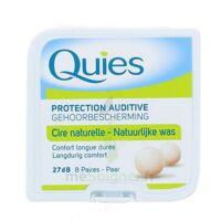 QUIES PROTECTION AUDITIVE CIRE NATURELLE 8 PAIRES à BOURG-SAINT-MAURICE