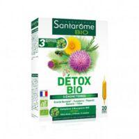 Santarome Bio Détox Solution buvable 20 Ampoules/10ml à BOURG-SAINT-MAURICE