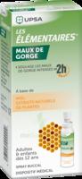Les Elementaires Solution Buccale Maux De Gorge Adulte 30ml à BOURG-SAINT-MAURICE