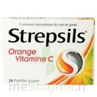 STREPSILS ORANGE VITAMINE C, pastille à BOURG-SAINT-MAURICE