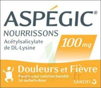 ASPEGIC NOURRISSONS 100 mg, poudre pour solution buvable en sachet-dose à BOURG-SAINT-MAURICE