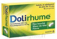 DOLIRHUME PARACETAMOL ET PSEUDOEPHEDRINE 500 mg/30 mg, comprimé à BOURG-SAINT-MAURICE