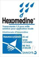 HEXOMEDINE TRANSCUTANEE 1,5 POUR MILLE, solution pour application locale à BOURG-SAINT-MAURICE