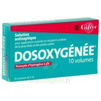 Dosoxygenee 10 Volumes, Solution Pour Application Cutanée En Récipient Unidose à BOURG-SAINT-MAURICE