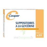 SUPPOSITOIRES A LA GLYCERINE COOPER Suppos en récipient multidose adulte Sach/25 à BOURG-SAINT-MAURICE