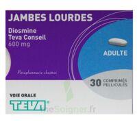 DIOSMINE TEVA CONSEIL 600 mg, comprimé pelliculé à BOURG-SAINT-MAURICE
