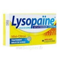 LYSOPAÏNE Comprimés à sucer maux de gorge miel citron sans sucre 2T/18 à BOURG-SAINT-MAURICE