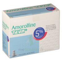 AMOROLFINE TEVA 5 % Vernis ongl médic médicamenteux 1Fl ver/2,5ml+spat à BOURG-SAINT-MAURICE