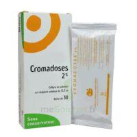 CROMADOSES 2 POUR CENT, collyre en solution en récipient unidose à BOURG-SAINT-MAURICE