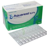 AQUAREST 0,2 %, gel opthalmique en récipient unidose à BOURG-SAINT-MAURICE