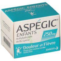 ASPEGIC ENFANTS 250, poudre pour solution buvable en sachet-dose à BOURG-SAINT-MAURICE