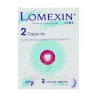 LOMEXIN 600 mg Caps molle vaginale Plq/2 à BOURG-SAINT-MAURICE