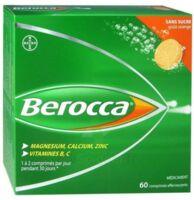 Berocca Comprimés effervescents sans sucre T/60 à BOURG-SAINT-MAURICE