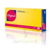 Oligosol Lithium Solution buvable en ampoule ou en récipient unidose 28Amp/2ml à BOURG-SAINT-MAURICE