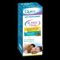 Quies Bi-Pack 2 Sprays buccal et nasale anti-ronflement à BOURG-SAINT-MAURICE