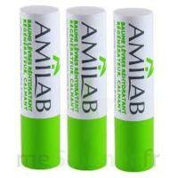 Amilab Baume labial réhydratant et calmant lot de 3 à BOURG-SAINT-MAURICE