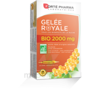 Forte Pharma Gelée royale bio 2000 mg Solution buvable 20 Ampoules/15ml à BOURG-SAINT-MAURICE