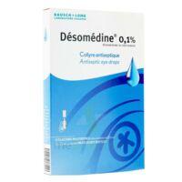 DESOMEDINE 0,1 % Collyre sol 10Fl/0,6ml à BOURG-SAINT-MAURICE