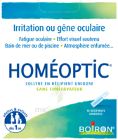 Boiron Homéoptic Collyre unidose à BOURG-SAINT-MAURICE