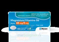 MAGNESIUM/VITAMINE B6 MYLAN 48 mg/5 mg, comprimé pelliculé à BOURG-SAINT-MAURICE